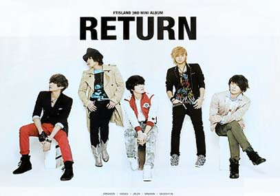 FTISLAND/RETURN ポスター